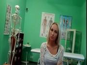 Массаж члена медсестрой видео